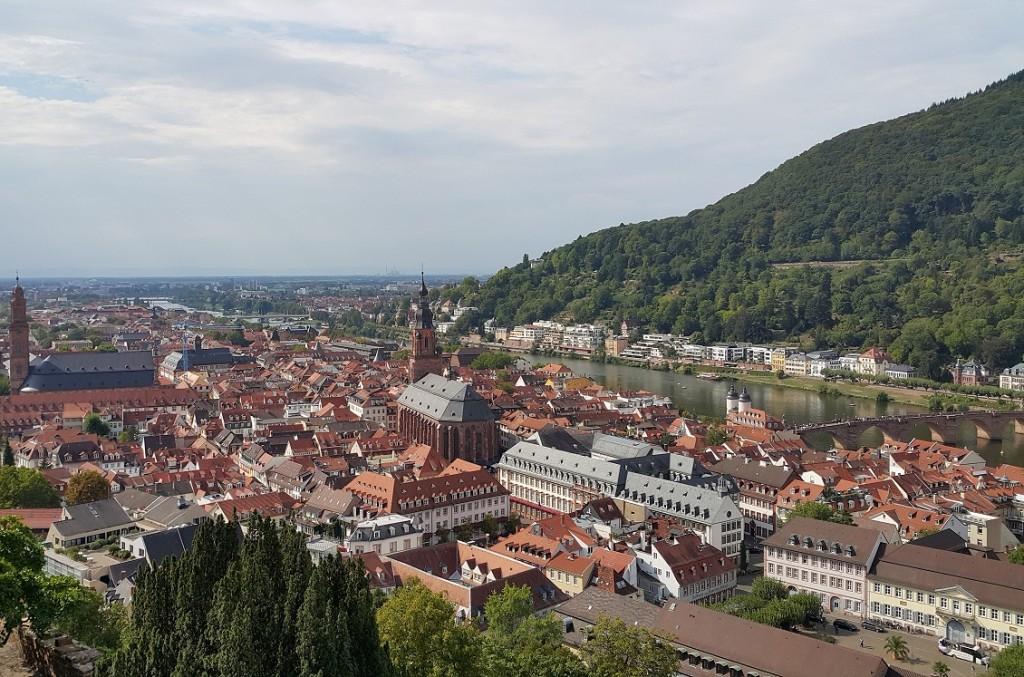 Heidelberg şatosundan